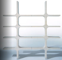 contemporary wooden shelf 0+1 C by Franco Poli Bernini