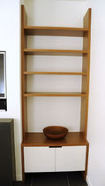 contemporary wooden shelf  Nico Spacecraft
