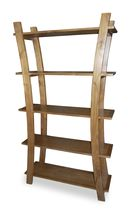 contemporary wooden shelf B-20-1 : 33x100x180 Indo Trading Premium