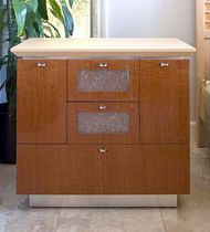contemporary wooden sideboard MINAKO LauraBirnsDesign Eco-Furnishings, LLC