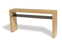 contemporary wooden sideboard table VERO I Michael Trayler Designs ltd.