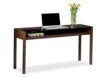contemporary wooden sideboard table XELA&amp;trade; by Al Glass Becker Designed, Inc.