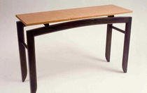 contemporary wooden sideboard table  Michael Puryear Furnituremaker