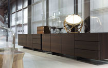 contemporary wooden sideboard PANDORA by Jean-Marie Massaud Poliform