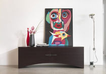 contemporary wooden sideboard BRIGDE by Francesco Polare KLAB DESIGN