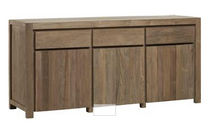 contemporary wooden sideboard (recycled teak) M114N KOK MAISON