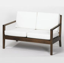contemporary wooden sofa SAIGON SOFA LAMBERT