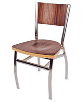 contemporary wooden stacking chair ALPHA ISA International