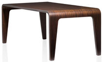 contemporary wooden table SLICE PSM