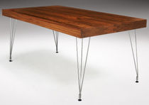 contemporary wooden table WEIGHTLESS  Haldane Martin