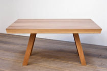 contemporary wooden table TABLE 08 P&uuml;hringer GmbH &amp; Co KG