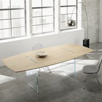 contemporary wooden table TAVOLANTE by Marco Gaudenzi TONELLI Design