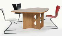 contemporary wooden table M 21 Tecta