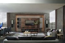 contemporary wooden TV wall unit AM&Oacute;N Planum, Inc.