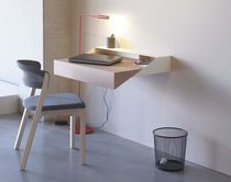 contemporary wooden wall desk DESK by Yael Mer & Shay Alkalay Arco Contemporary Furniture
