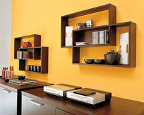 contemporary wooden wall shelf LOFT by Fabio Bortolani Calligaris Italian home design since 1923