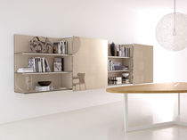 contemporary wooden wall shelf PAB by Studio Kairos B&B Italia