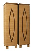 contemporary wooden wardrobe EUCLIDE SISKÔ DESIGN