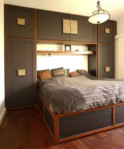 contemporary wooden wardrobe  MATAHATI