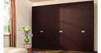 contemporary wooden wardrobe SPAZIO PLUS  Homes