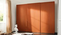 contemporary wooden wardrobe with sliding doors TECNO 45 ORME