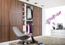 contemporary wooden wardrobe with sliding doors VISAVERSA 55 noteborn