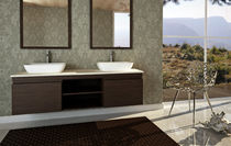 contemporary wooden washbasin cabinet CAPPUCCINO  Dado Creations Pty (LTD)