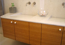 contemporary wooden washbasin cabinet  dal pos angelo