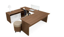 contemporary writing desk PRINCETON GLOBAL totaloffice
