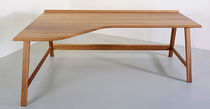 contemporary writing desk in certified wood (FSC-certified) WINTON by Stven Owens BENCHMARK