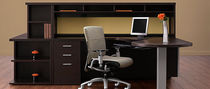 contemporary writing desk with shelf ZIRA   GLOBAL totaloffice