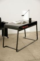 contemporary writing desk GLASS-5 by Eric Gizard ARTELANO