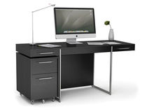 contemporary writing desk FORMAT™ 6307 by Matthew Weatherly  Becker Designed, Inc.