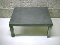 contemporary zinc coffee table ORIGINE Dezinc