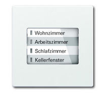 control keypad for home automation system 6730 SOLO&reg; ABB STOTZ-KONTAKT