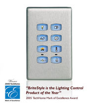 control keypad for home automation system BRITESTYLE  VANTAGE