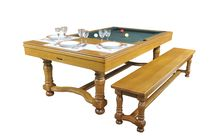 convertible pool table GASCOGNE  BILLARDS CHEVILLOTTE