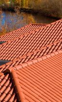 copolymer roofing panel NOVICLAY&reg; NOVIK