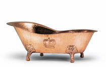 copper bath-tub on legs CROWN Universal Greyhound Ltd.