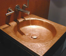 copper counter top washbasin QUADRATO AGO