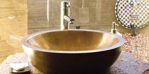 copper counter top washbasin OVAL Palazzo Baths