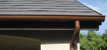 copper rainwater down-pipe  Custom-Bilt Metals