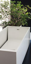 Corian rectangular bath-tub H7 Axolute Srl