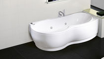 corner hydromassage bath-tub VENUS NOVELLINI