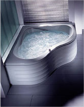 corner hydromassage bath-tub SANTA BARBARA by G.Horntrich HOESCH Design