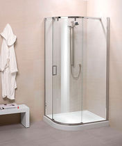 corner shower cabin with sliding door SILANUS STANDARD  calibe