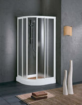 corner shower cabin with sliding door OSIRIS S Vegas