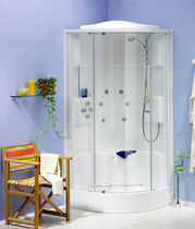 corner shower cabin with sliding door TEMPOFIT 90 Roth France