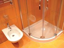 corner shower tray  Modulbagno