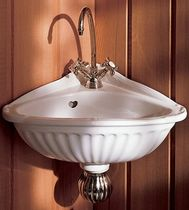 corner wall-hung hand basin CARLINE - 0106 Herbeau